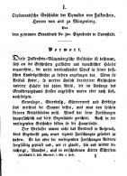 I Diplomatische Geschichte der Dynasten von Falkenstein Herren von und zu Münzenberg Bon dem geheimen Staatsrath Dr Zur Eigenbrodt in Darmstadt