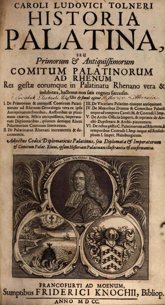 Neues Recherchematerial: Historia Palatina