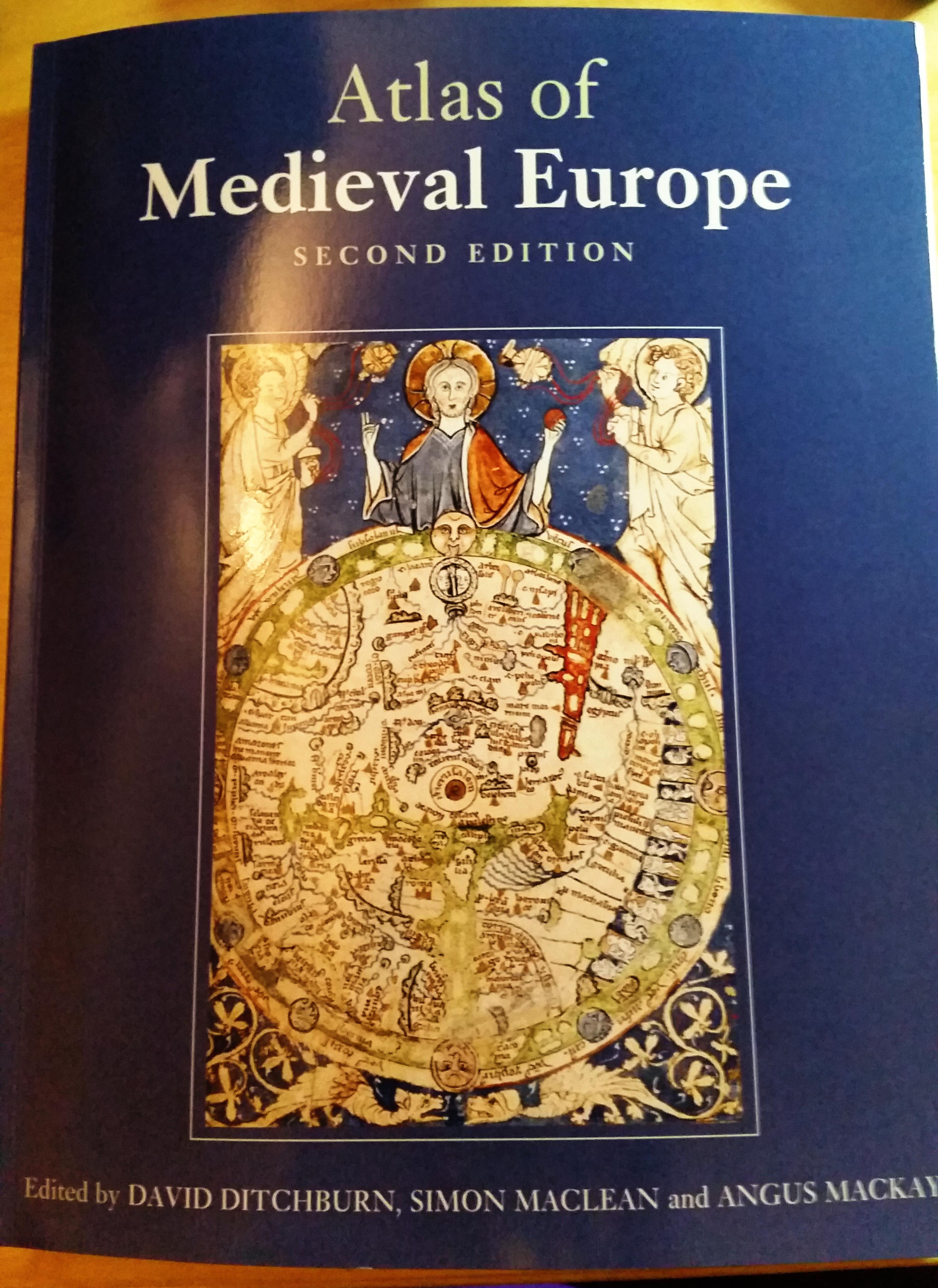 Neues in der Bibliothek: Atlas of Medieval Europe